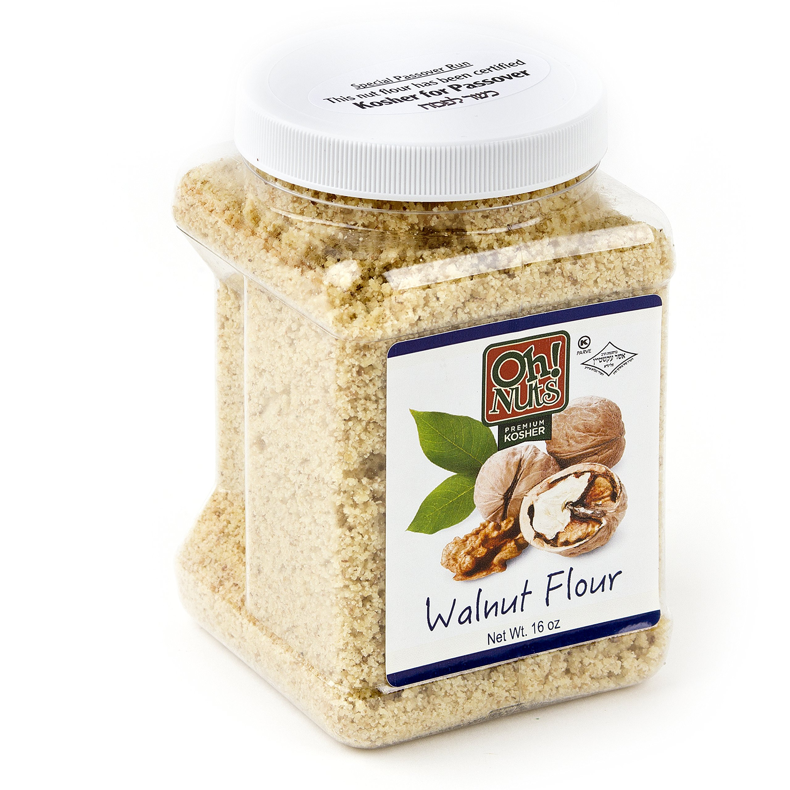 Flours & Meals 1 LB Jars - Oh! Nuts (Ground Walnuts 2 Pack)