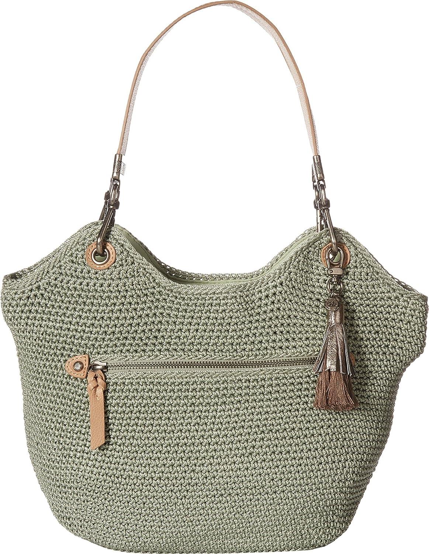The Sak107268 - cartera de ganchillo indio Para mujer, Verde (Seafoam), Talla única: Amazon.es: Zapatos y complementos