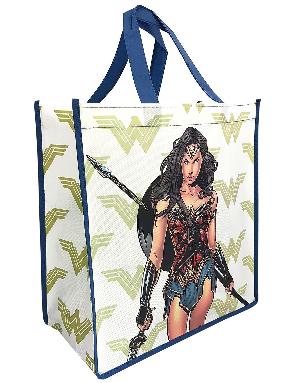 DC Comics Wonder Woman Freedom FighterトートバッグGroceryショッピングバッグ B077SY8HJ6
