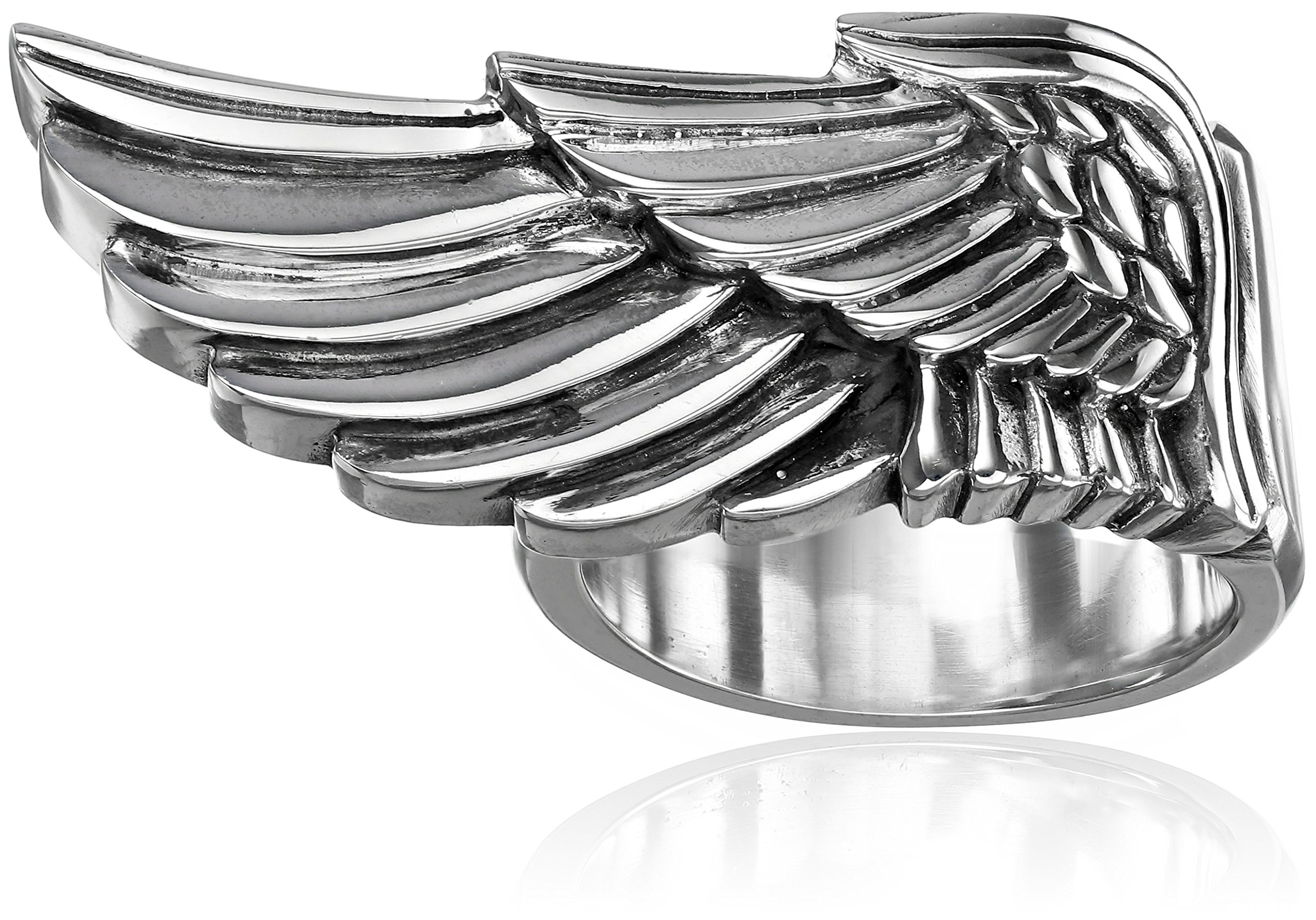 King Baby Men's Wing Ring, Size 10