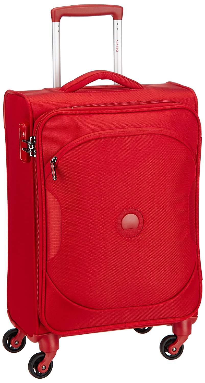 Delsey Polyester 55 cms Red Softsided Carry-On (324680104)