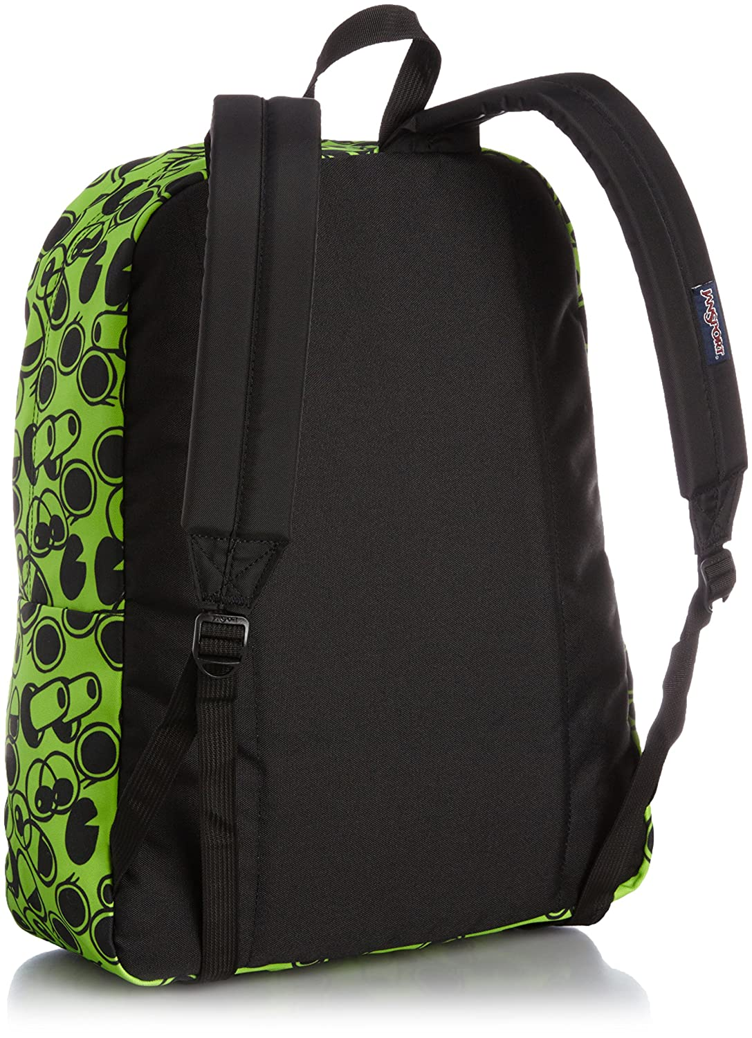 JanSport Superbreak Backpack Zap Green Double Vision