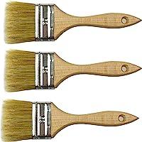 Peinture poils naturels Lot de 3 outils