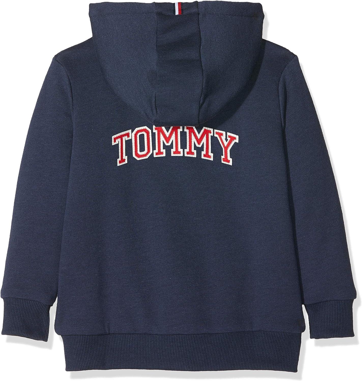 Tommy Hilfiger Jungen Soft Teddy Jacket Strickjacke