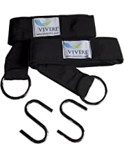 Vivere Eco-Friendly Hammock Tree Strap 2-Pack