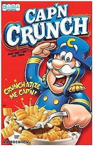 Cap'n Crunch Breakfast Cereal, 20oz Box