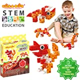 Click-A-Brick Dino Pals 30pc Building Blocks Set | Best STEM Toys for Boys & Girls Age 4 5 6 Year Old | Kids 3D Creative Puzzle Fun | Top Educational Learning Gift For Children Ages 4 - 12