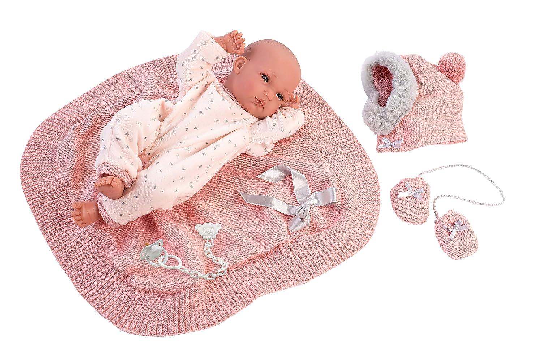 Llorens 13.8 Anatomically-Correct Baby Doll Anna