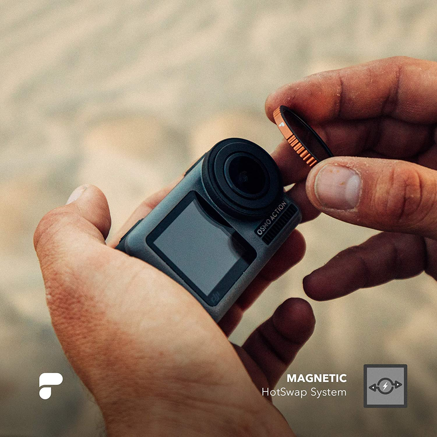 Magnetic HotSwap Filter System PolarPro Cinematographer Filter 10-Pack for DJI Osmo Action