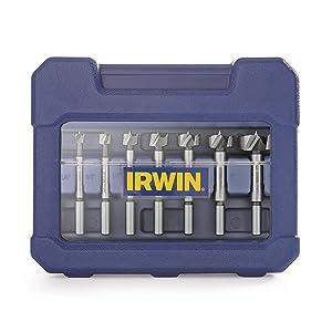 Irwin Tools 1966892 Marples Wood Drilling Forstner Bit Set (8 Piece)