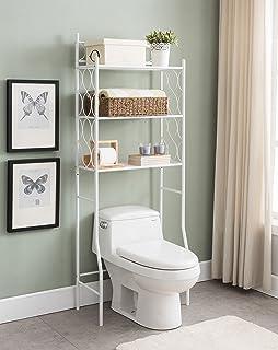 Amazon.com: Kings Brand Over The Toilet Storage Etagere Bathroom ...