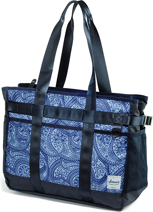 Multi Feather Utility Tote Mother/'s Day Gift Personalized Beach Bag Nurse Tote