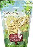 Food to Live Organic Pine Nuts / Pignolias (1 Pound)