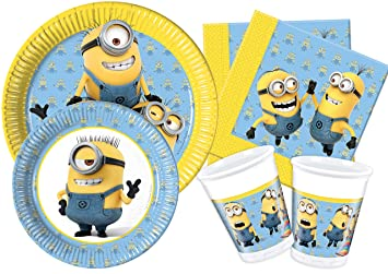 Ciao y4486 Kit Party Tabla Minions