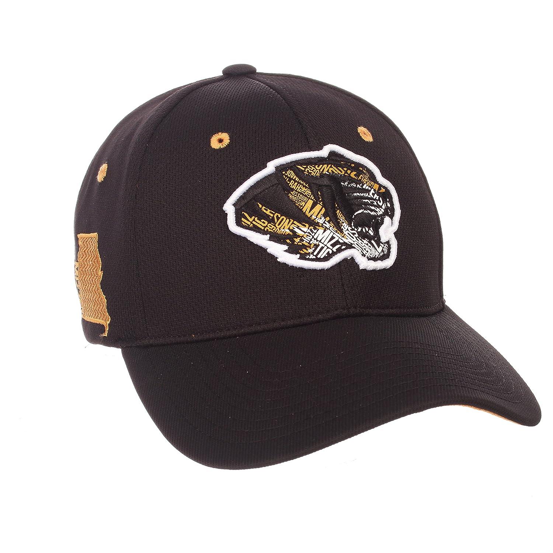 Medium//Large Team Color Zephyr Adult Men Rambler NCAA Hat
