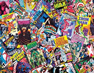 product image for Springbok's 1000 Piece Jigsaw Puzzle Comic Books Galore, Multi