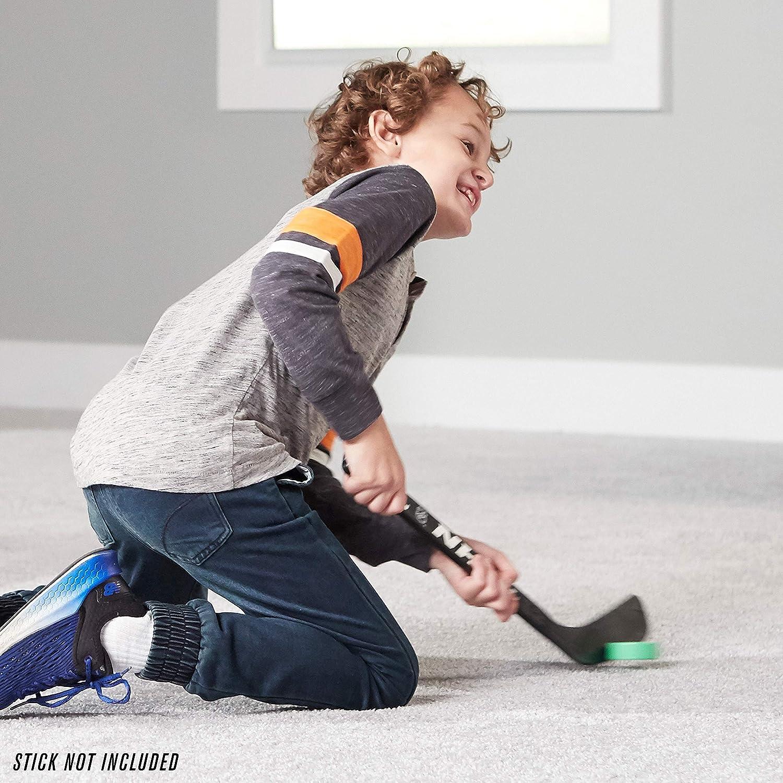 Franklin Sports Mini Foam Hockey Pucks - Indoor Knee Hockey Pucks for Kids - 3 Soft Foam Hockey Pucks - Assorted Colors : Sports & Outdoors