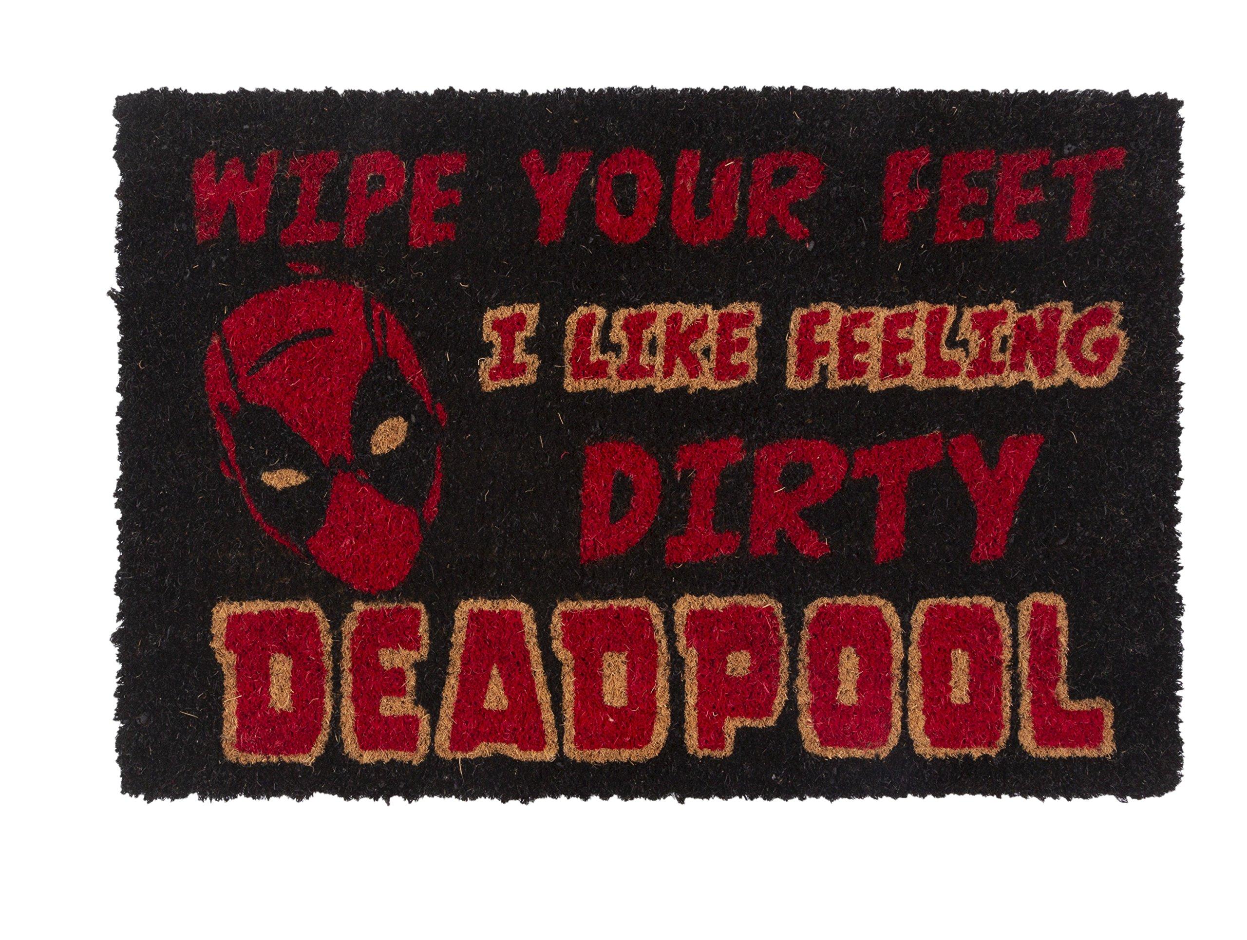 Pyramid International Marvel Comics Deadpool Wipe Your Feet Door Mat