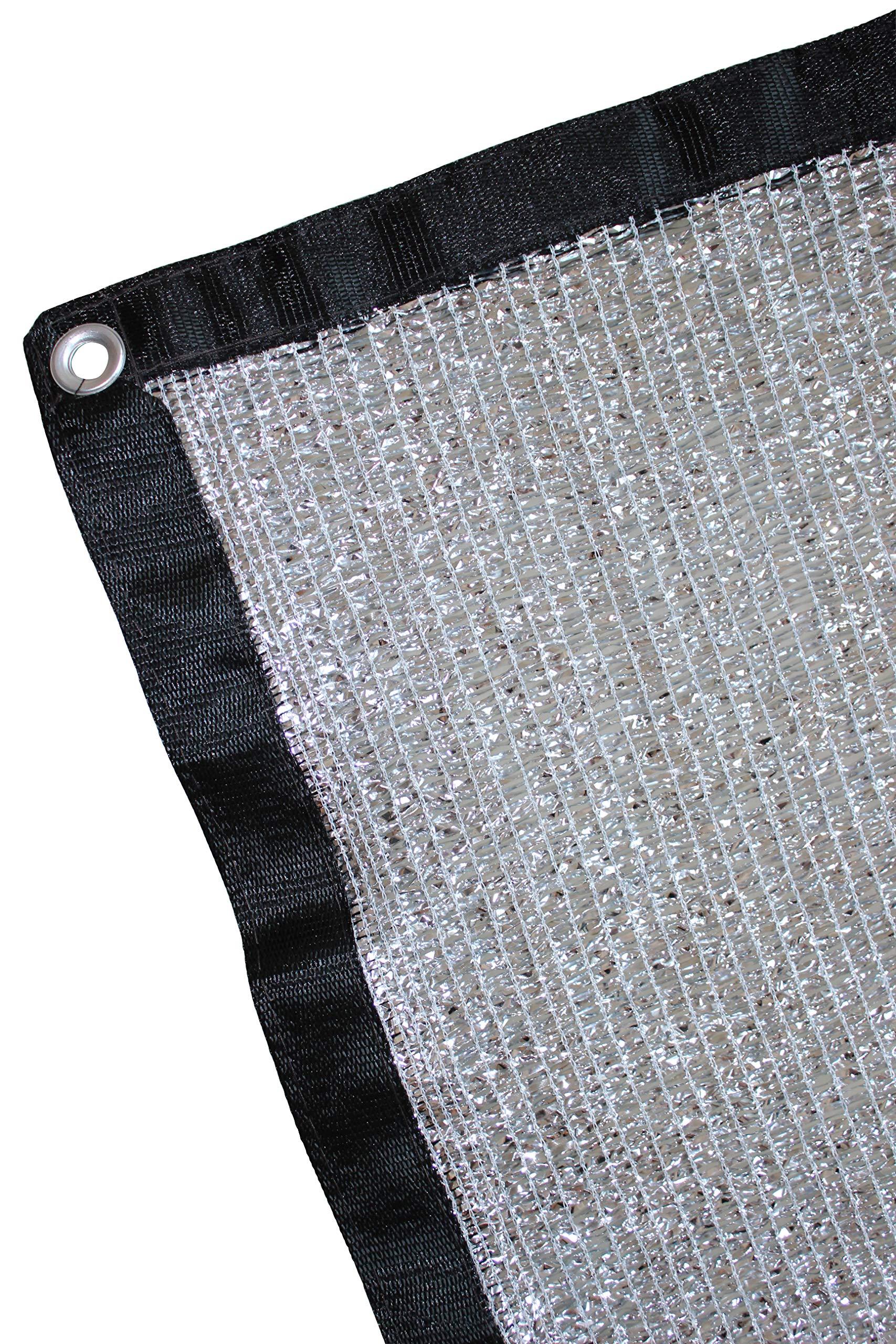 Jesasy 70% 6.5 ft x 8 ft Aluminet Shade Cloth