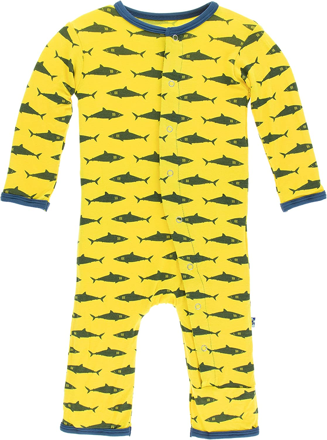 KicKee Pants Baby Boys' Print Coverall
