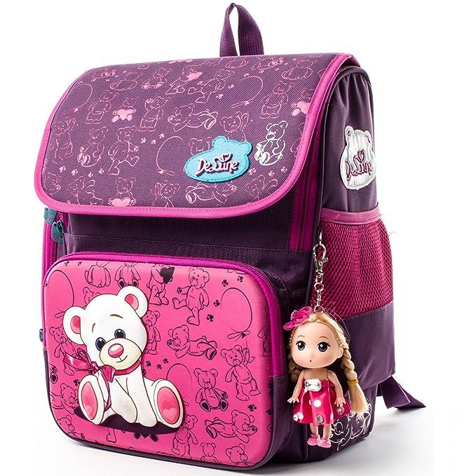 c9a90809ab Delune Children School Bag Cute Cartoon Backpack  Amazon.ca  Luggage ...