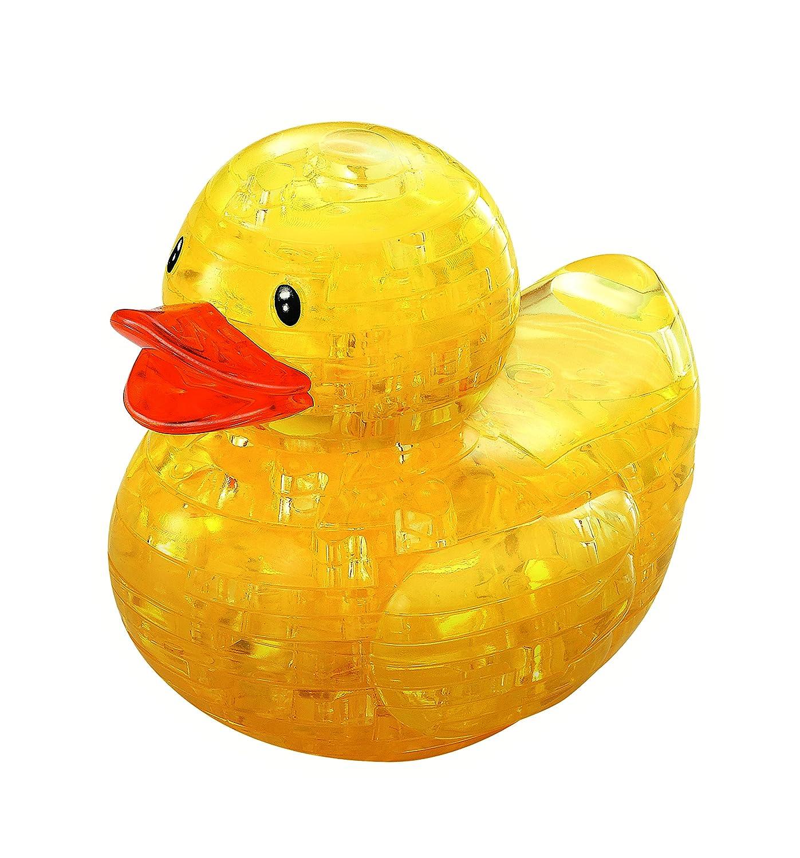 BePuzzled Original 3D Crystal Puzzle, Duck 30977M