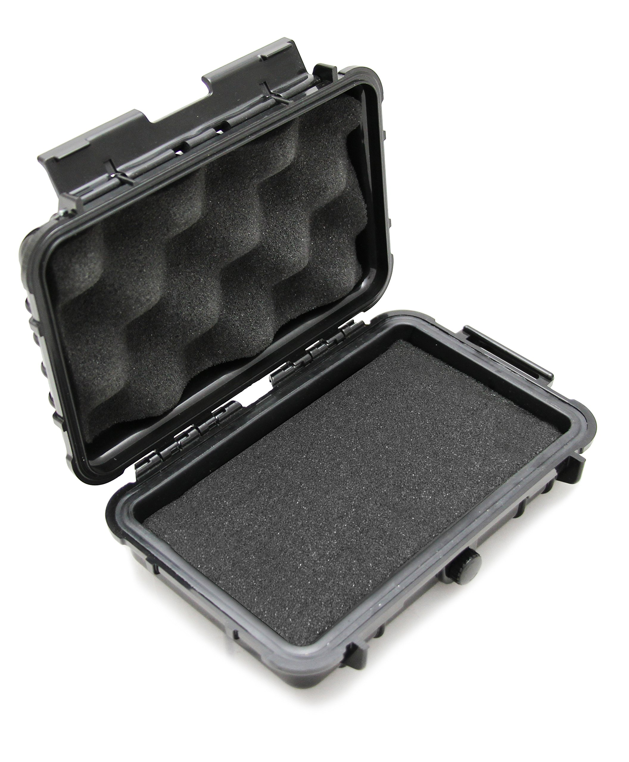 CASEMATIX Camera Case fits Canon PowerShot ELPH 180, Canon Powershot G9 X Mark II, Canon PowerShot ELPH 190 is, Elph 360 HS and More with Foam Padded Protection and Waterproof Hard-shell