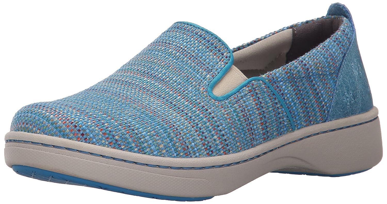 Dansko Women's Belle Blue Textured Canvas Fashion Sneaker B010996EY2 38 EU/7.5-8 M US|Blue Textured Canvas