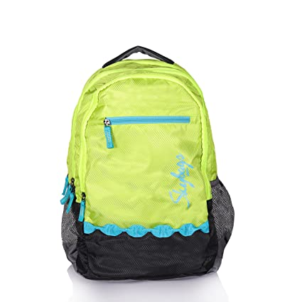 bb475bb335 Skybags Sketch Extra-01 Backpack (Green)  Amazon.in  Bags