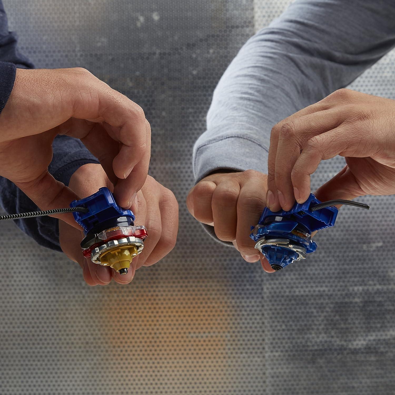 Hasbro Set de Combat pour 2 Joueurs 2 toupies + 2 lanceurs + 1 arène Beyblade Burst B9498EU60