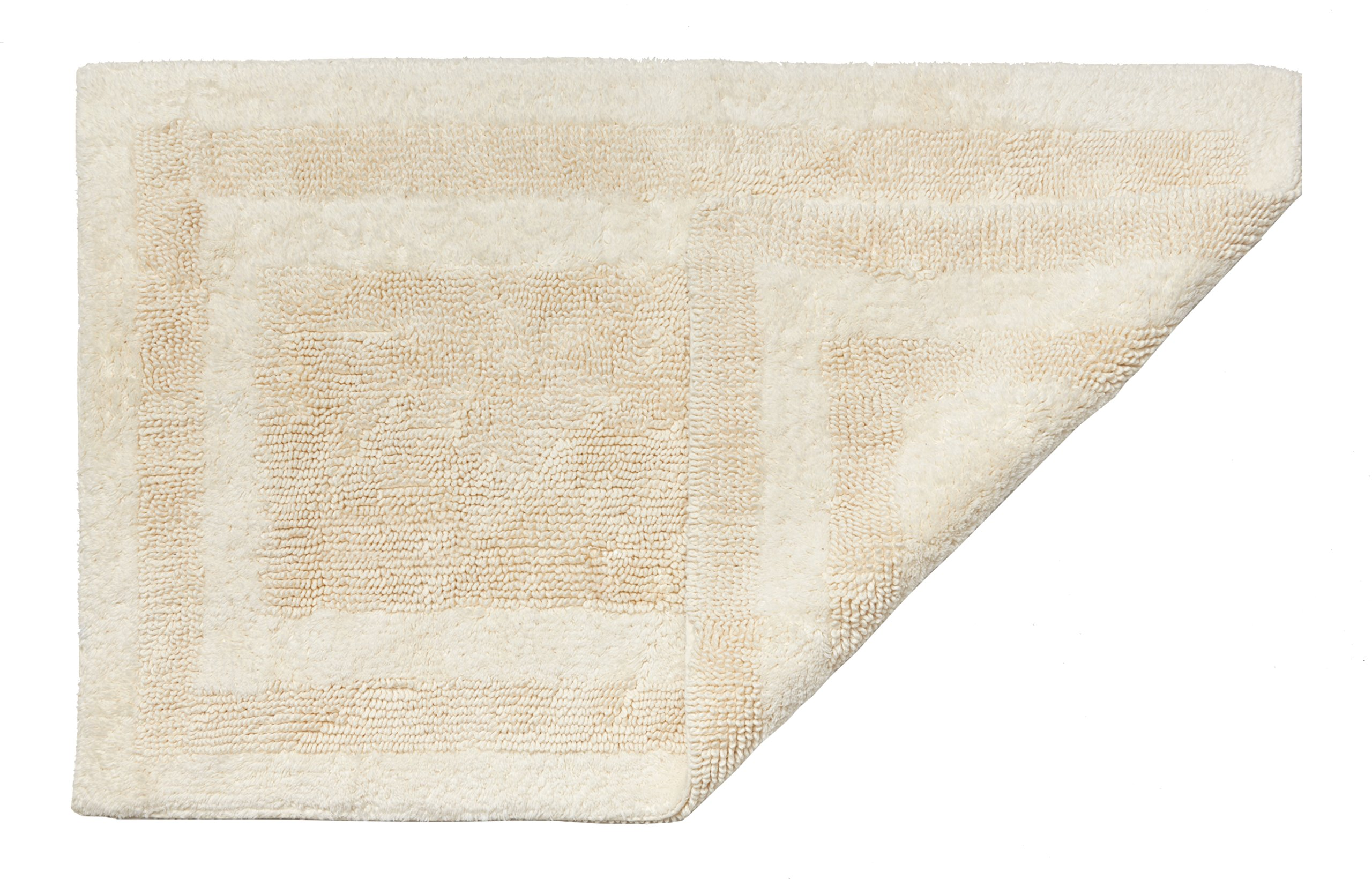 HygroSoft Reversible Fast Drying and Absorbent Bath Rug, 30 by 48-Inch, Vanilla