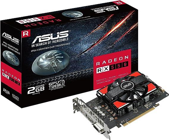 Asus Radeon Rx 550 2gb Computers Accessories