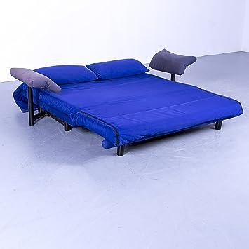 Amazonde Ligne Roset Multy Designer Schlaf Sofa Stoff Blau Schlaf