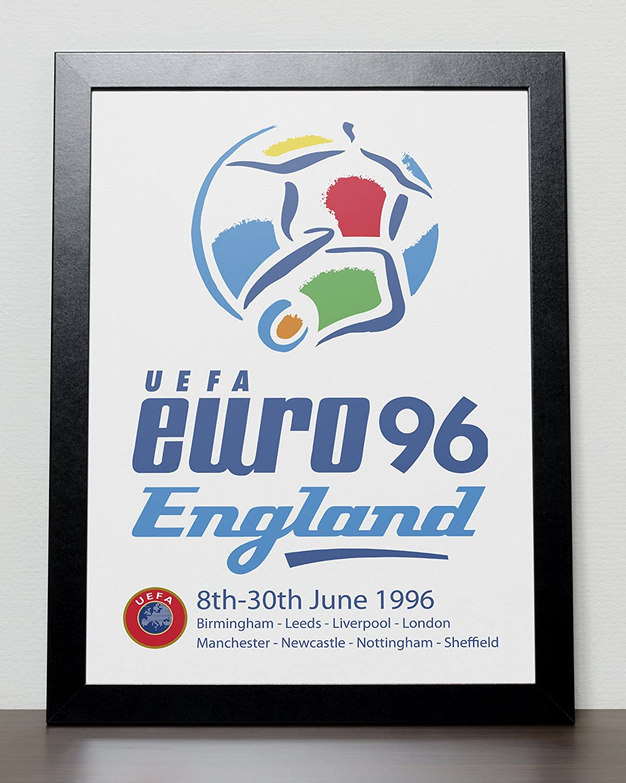 UEFA Euro 96 England Poster
