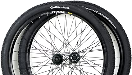 68e6fbd5089 Image Unavailable. Image not available for. Color: Mavic Rim 29er Mountain  Bike Wheels with Disc Brake Shimano Hubs ...