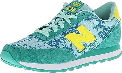 Amazon.com: Zapatillas New Balance 501 V1 para mujer, verde ...