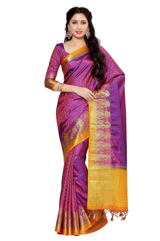 Art Silk Saree Kanjivaram Style