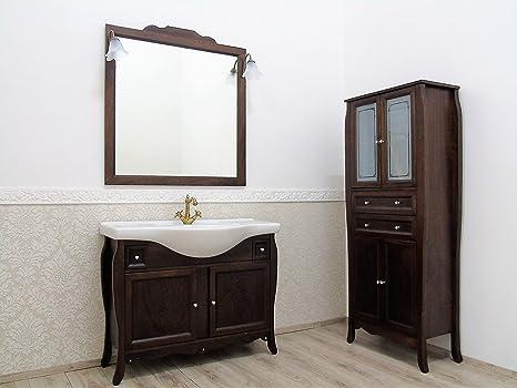 Arredo bagno arte povera con swarovsky mobile bagno con lavabo ...