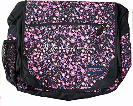 JANSPORT Elefunk Daisy w//Laptop Sleeve MESSENGER BAG BACKPACK