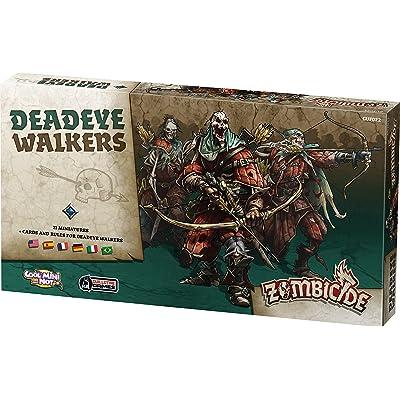 Zombicide: Black Plague Deadeye Walkers Board Game: Toys & Games
