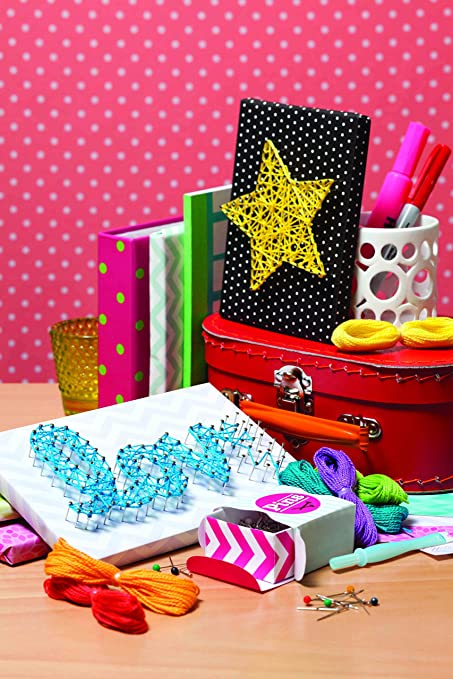 Amazon.com: Klutz String Art Book Kit: The Editors of Klutz: Toys ...