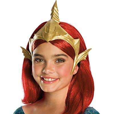 Rubie's Girls Aquaman Movie Deluxe Mera Tiara Costume Headwear: Toys & Games