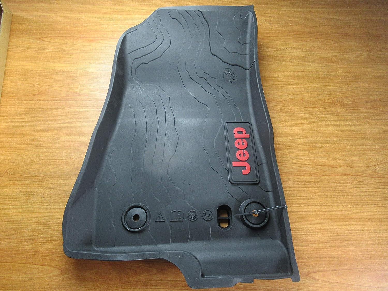 Mopar Jeep Gladiator Front /& Rear Complete Set of 4 Rubber Floor Mats OEM