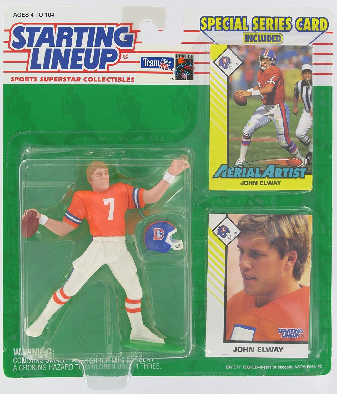1993 John Elway Denver Broncos Kenner SLU Starting Lineup NFL Football figure