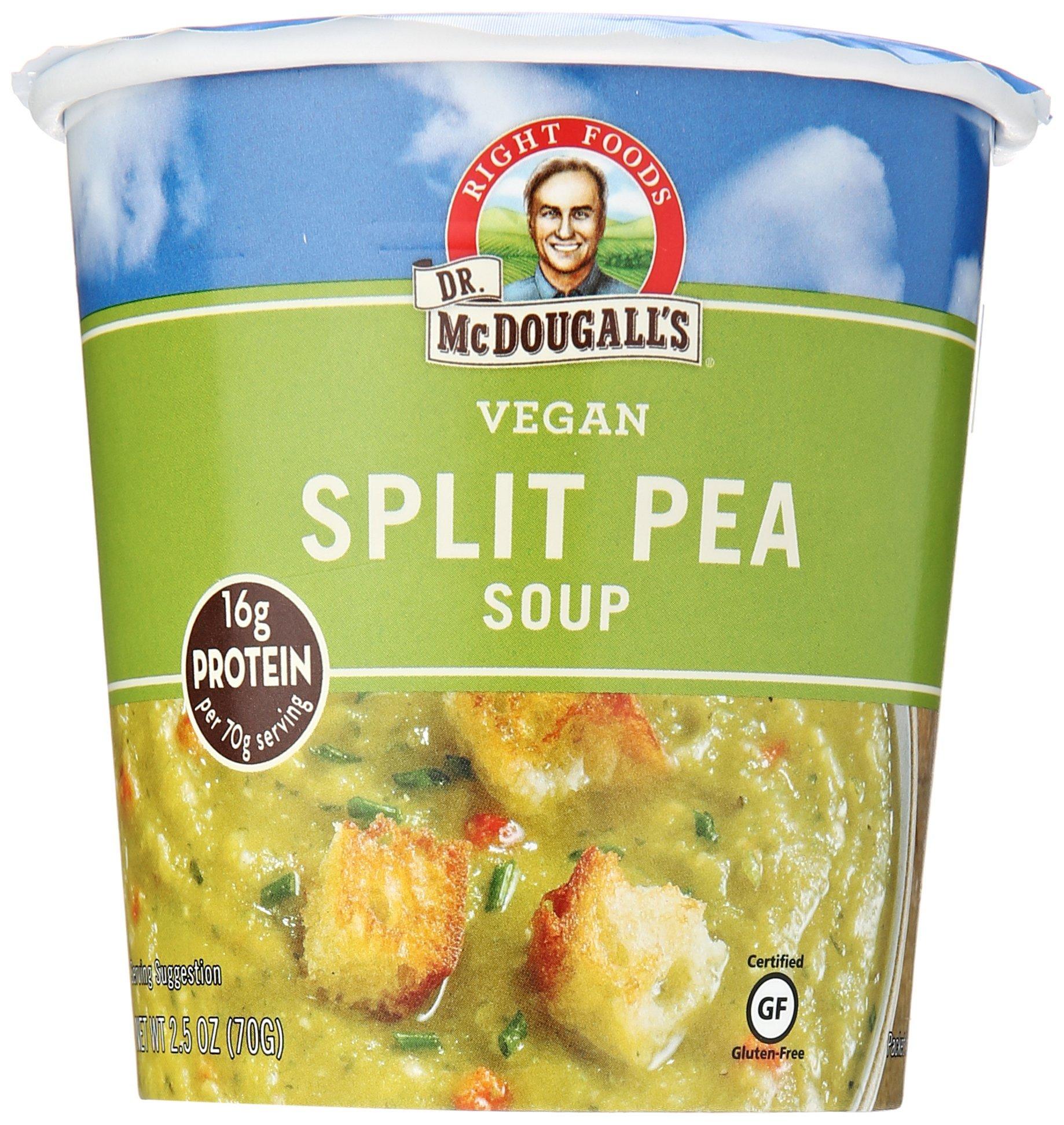 Dr. McDougall's Vegan Split Pea Soup Cup, 2.5 oz