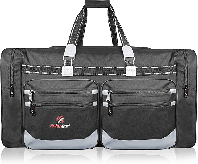 foolsGold Extra Large 120L Holdall Travel Duffle Bag in Navy