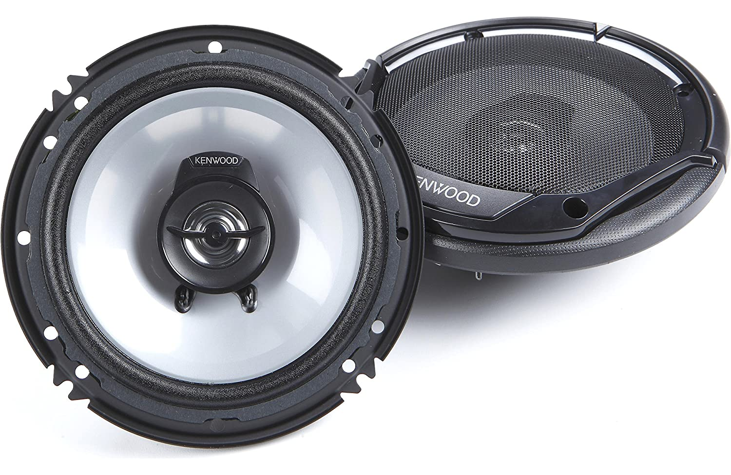 "Kenwood KFC-1665S 6.5"" New 300W 2-Way Car Audio Coaxial Speakers Stereo"