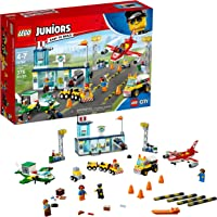 Lego Juniors City Central Airport 10764 Building Kit (376 Pieces)