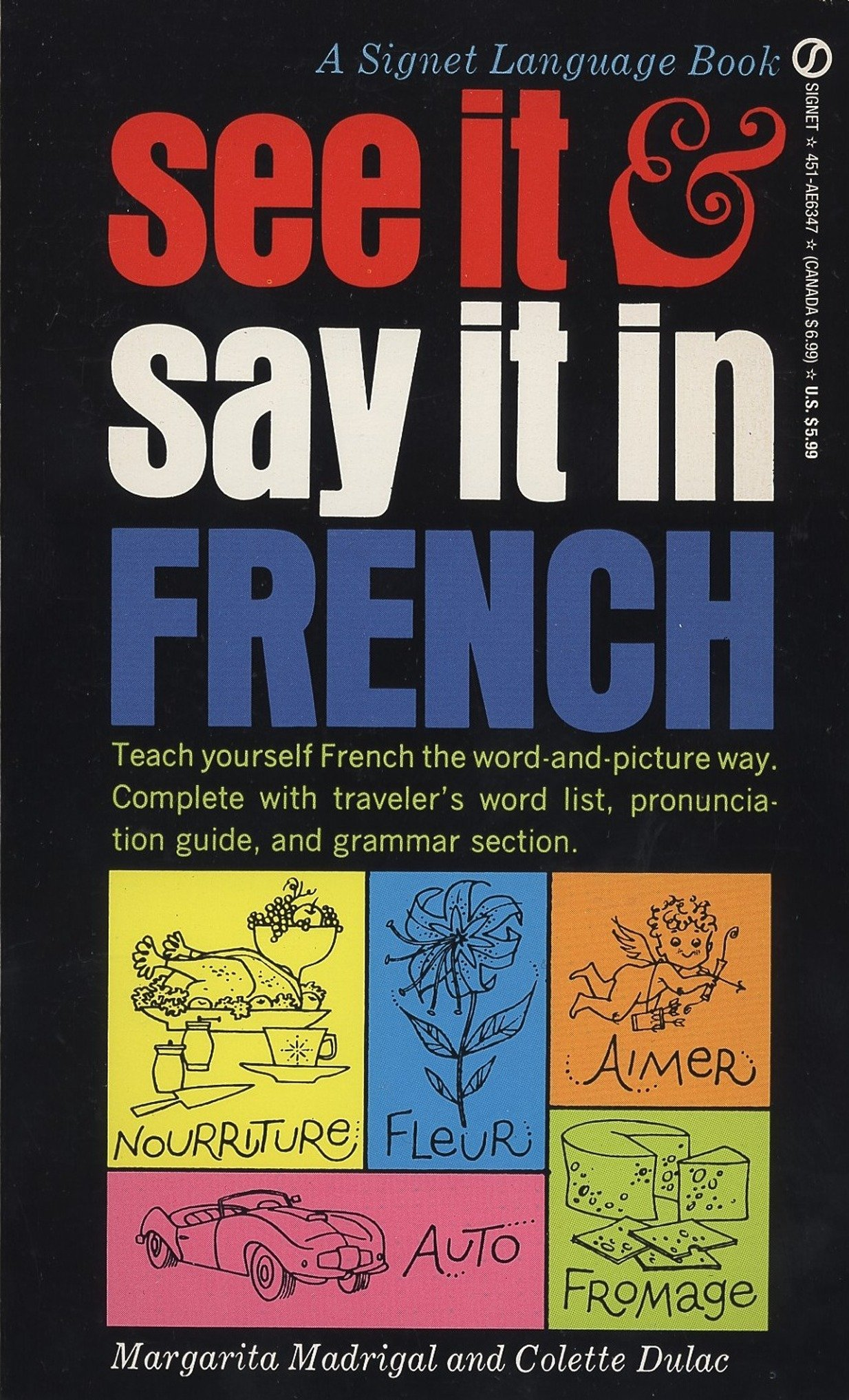 See it and say it in french a beginners guide to learning french see it and say it in french a beginners guide to learning french the word and picture way margarita madrigal colette dulac 9780451163479 amazon solutioingenieria Choice Image