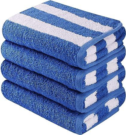 Utopia Towels - Toallas de playa Cabana Stripe - Toallas de mano de algodón - 41